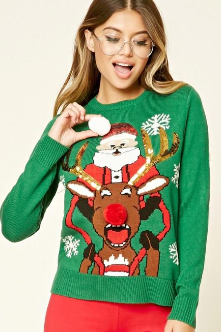 santa_reindeer_sweater_forever21
