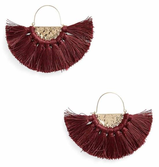 bp_oversized fan earrings