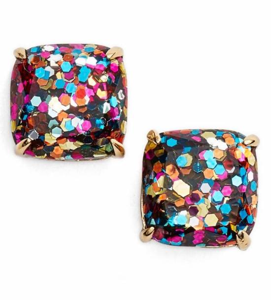 mini small square studs_kate spade