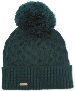calvinklein_honeycomb_cable_knit_beanie